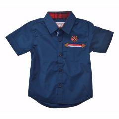 Ripcurl Casual Half Sleeve Navy Blue Shirt