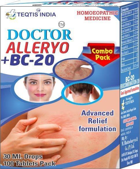 Doctor Alleryo Drops+ BC 20 Tablets