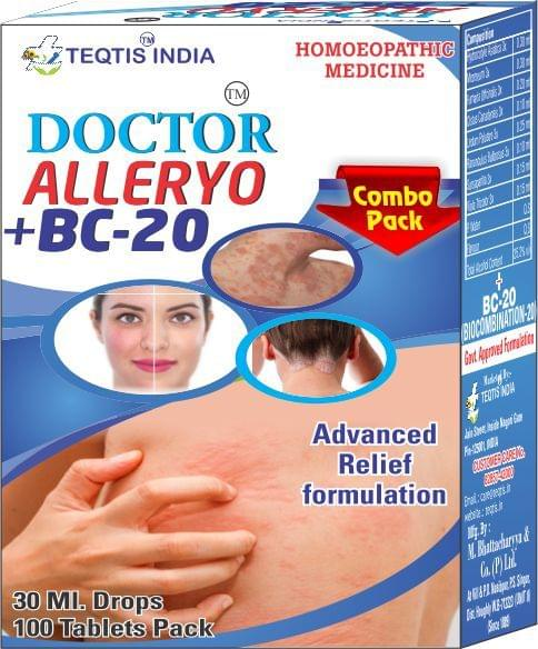 Doctor Alleryo Drops+ BC 20 Tablets