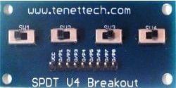 SPDT V4 Breakout Board