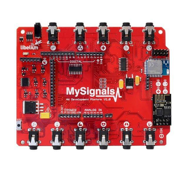 MySignals HW (eHealth Medical Development Shield for Arduino)