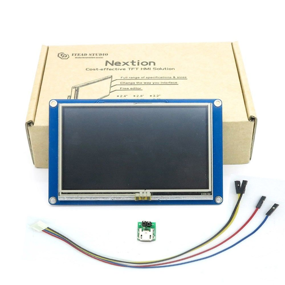 "Nextion NX8048T070 - Generic 7.0"" HMI TFT LCD Touch Display"