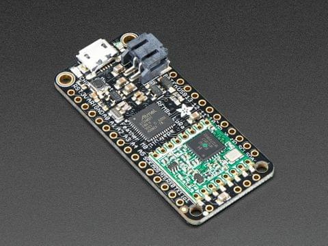 Adafruit Feather M0 with RFM95 LoRa Radio - 900MHz - RadioFruit