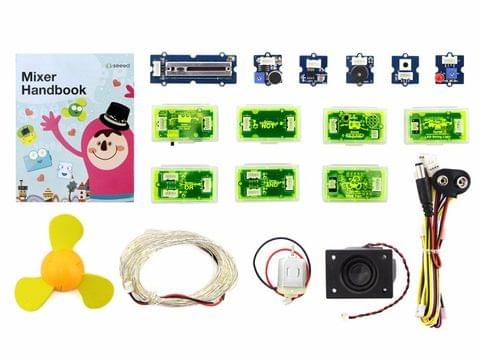 Mixer Pack V2 (Electronic blocks,without Arduino,plug and play system)