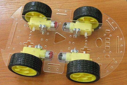 ROBOT-4-WHEEL-KIT