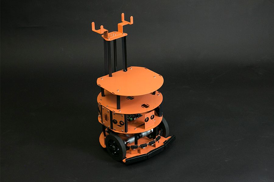 HCR - Mobile Robot Platform with Sensors and Microcontroller