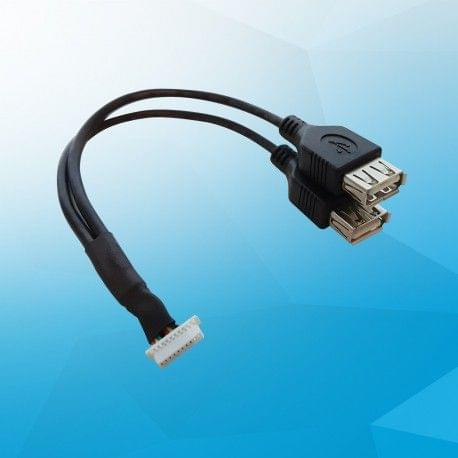 USB 2.0 pin header cable (w/o UART)