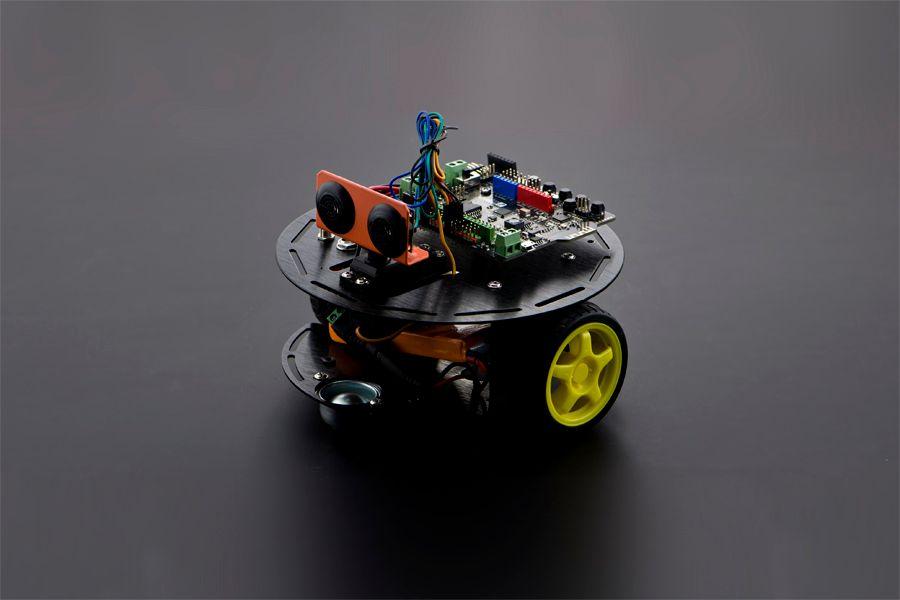 Turtle Kit: A 2WD DIY Arduino Robotics Kit For Beginner