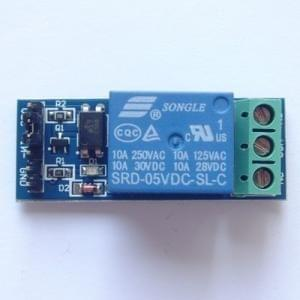 5 v 10 A optical coupling isolation relay module trigger mode is adjustable