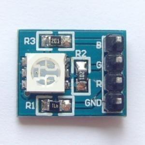 RGB tricolor LED module controlled full color LED module