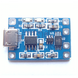 TP4056 lithium battery charging board over-current protection 18650 micro USB