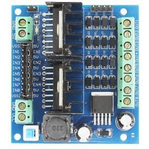 L298N motor drive module four motor drive intelligent car drive motor module