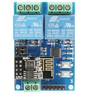 LC 5V 2-Channel WIFI Relay Module