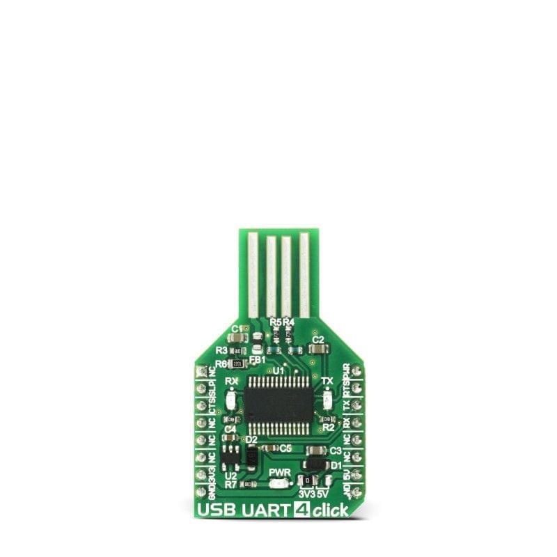 USB UART 4 click