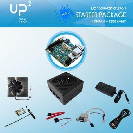 UP Squared-Pentium-8GB-64B-PACK