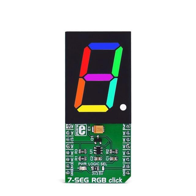 7-SEG RGB click