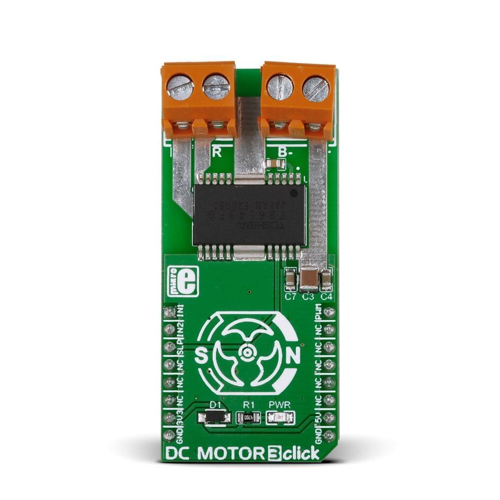 DC MOTOR 3 Click