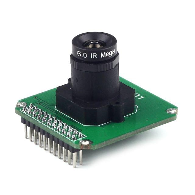 1pcs MT9M001 1.3Mp HD CMOS Color Camera Module M12 Mount 6mm Lens