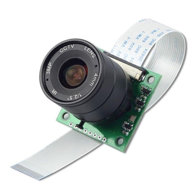 Arducam NOIR 8MP Sony IMX219 camera module with CS lens 2718 for Raspberry Pi