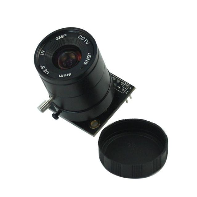 5 Mega pixel Camera Module OV5642 /w CS mount Lens