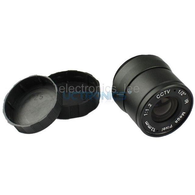 "1/2"" CS mount LSF1211CS Megapixel Focal Length 12mm Camera Lens"