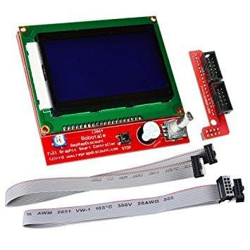 Reprap Ramps 1.4 12864 LCD Smart Controller Display 3D Printer