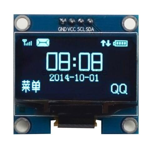 1.3'' IIC Serial OLED White Blue Display Screen Module For Arduino