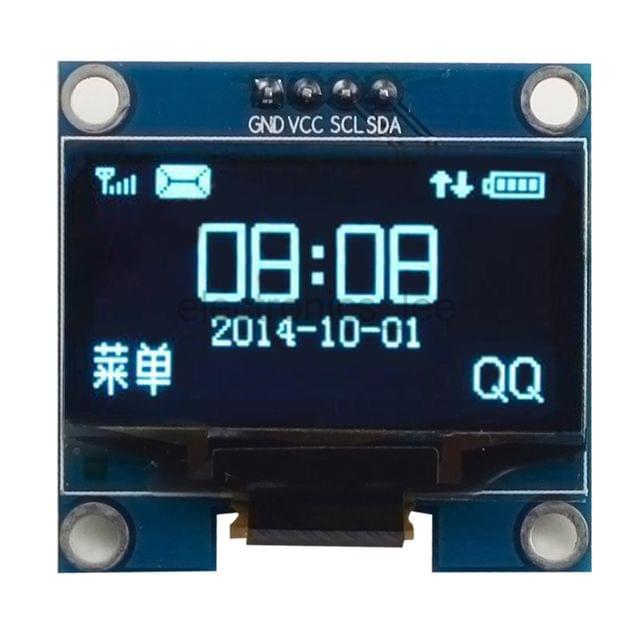 1.3'' IIC Serial OLED White Blue Display Screen Module For Arduino