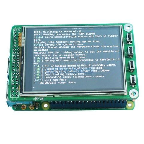 "320X240 2.8"" TFT LCD expansion display + touchscreen for Raspberry Pi B+ Board"