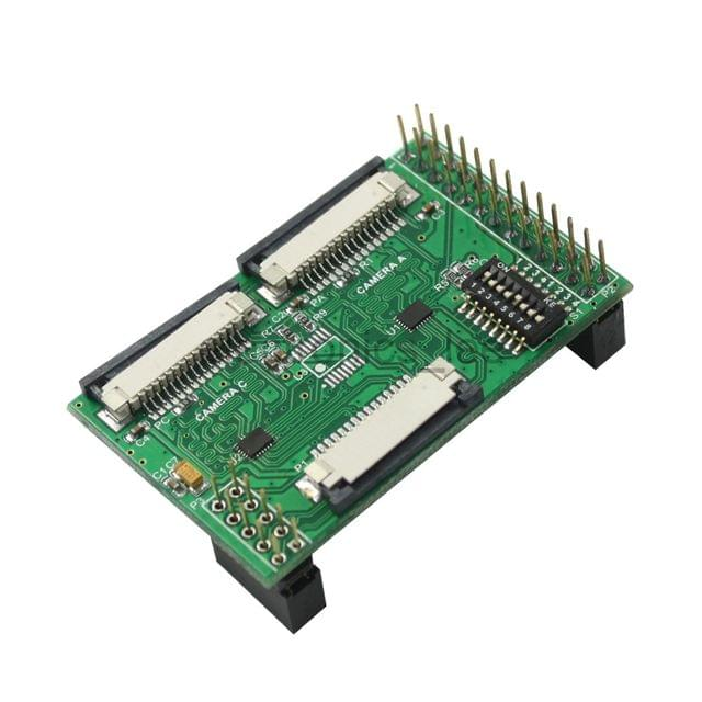 Multi camera Adapter module fully compatible for official Raspberry Pi B+ / 3 / 2 ModelB