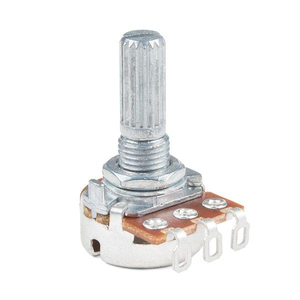 Rotary Potentiometer - 100k Ohm, Linear (Panel Mount)
