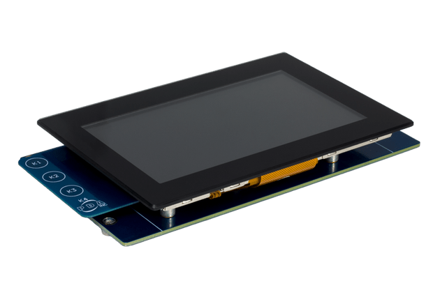 "Microchip Technology AC320005-5 5.0"" WQVGA Display Module"