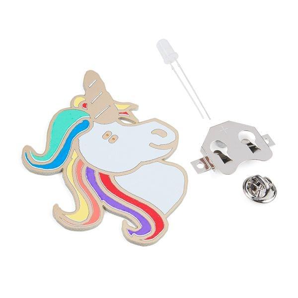 Unigeek - Unicorn Soldering Badge Kit