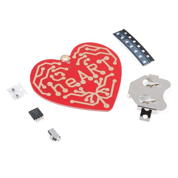 heART - Surface Mount Soldering Kit