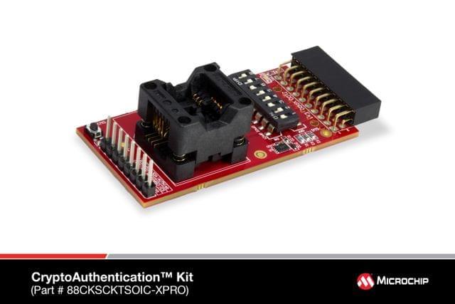 CryptoAuthentication SOIC Socket Board - 88CKSCKTSOIC-XPRO