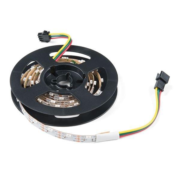 Skinny Side-Lit LED RGBW Strip - Addressable, 1m, 60LEDs (SK6812)