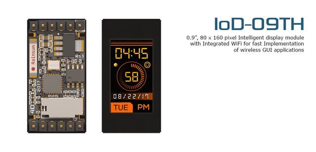 Internet of Displays (IoD) Display Modules - IOD-09TH