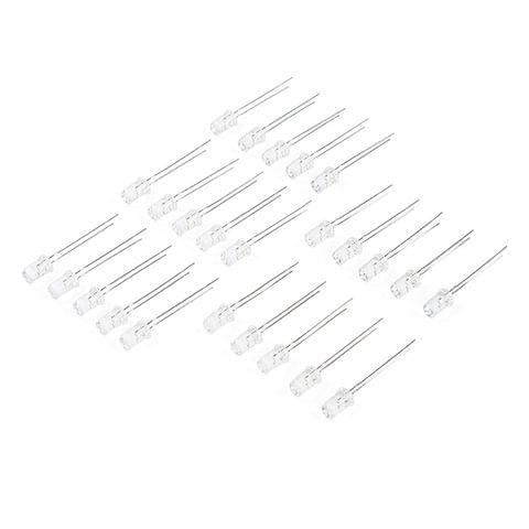 LED - Green with Resistor 5mm (25 pack)