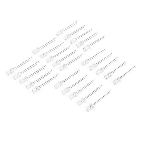LED - Red with Resistor 5mm (25 pack)