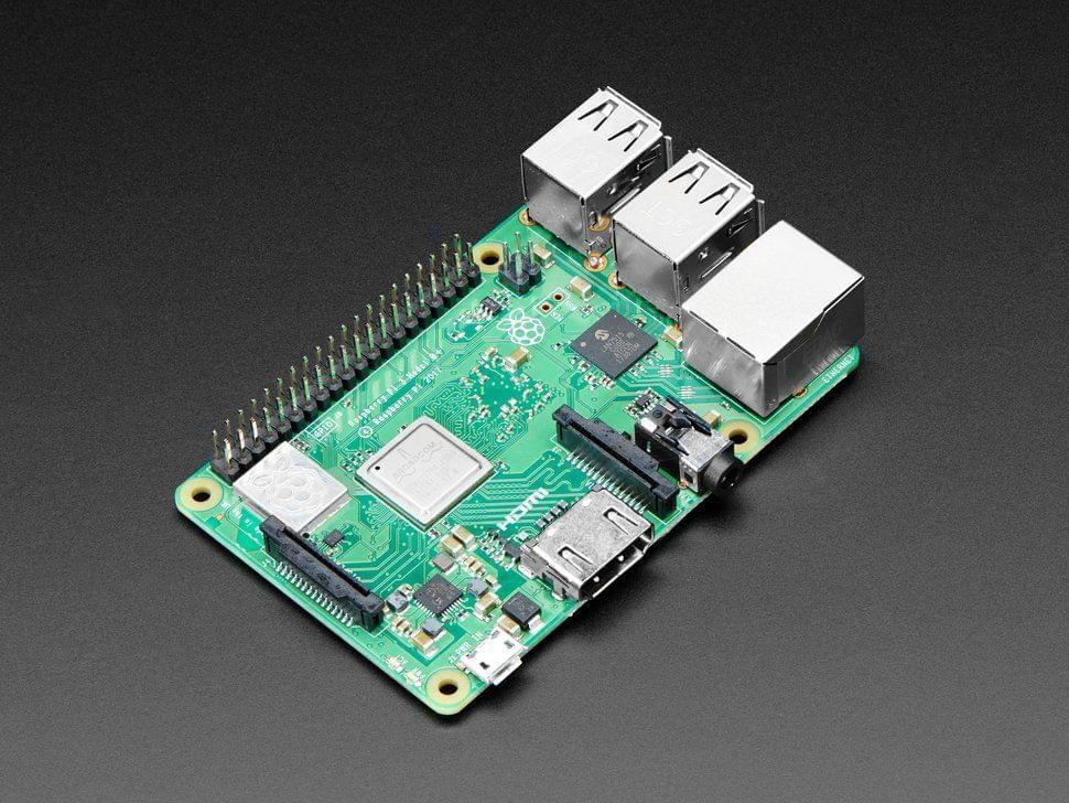Raspberry Pi 3 - Model B+ - 1.4GHz Cortex-A53 with 1GB RAM