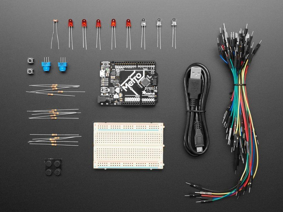 Budget Pack for Metro 328 - with Assembled Metro ATmega328P