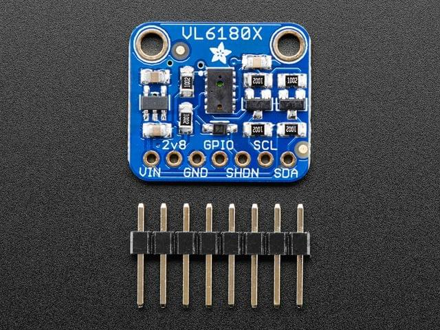 Adafruit VL6180X Time of Flight Distance Ranging Sensor (VL6180)Adafruit VL6180X Time of Flight Distance Ranging Sensor (VL6180)