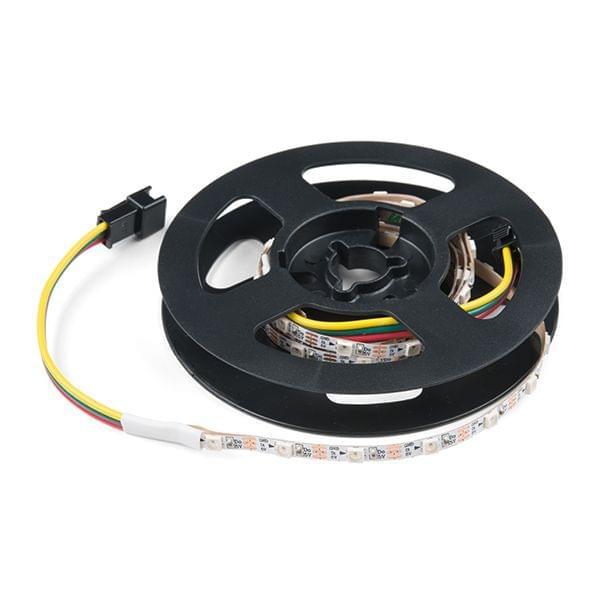 Skinny LED RGB Strip - Addressable, 1m, 60LEDs (SK6812)