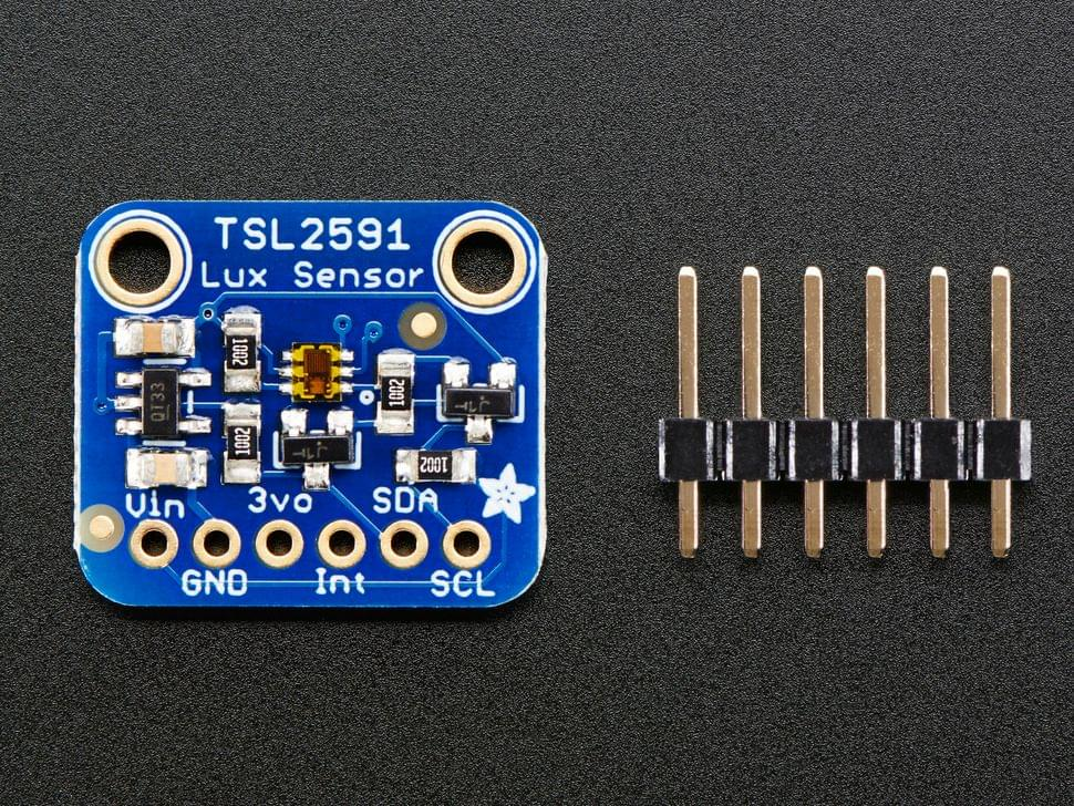 Adafruit TSL2591 High Dynamic Range Digital Light Sensor