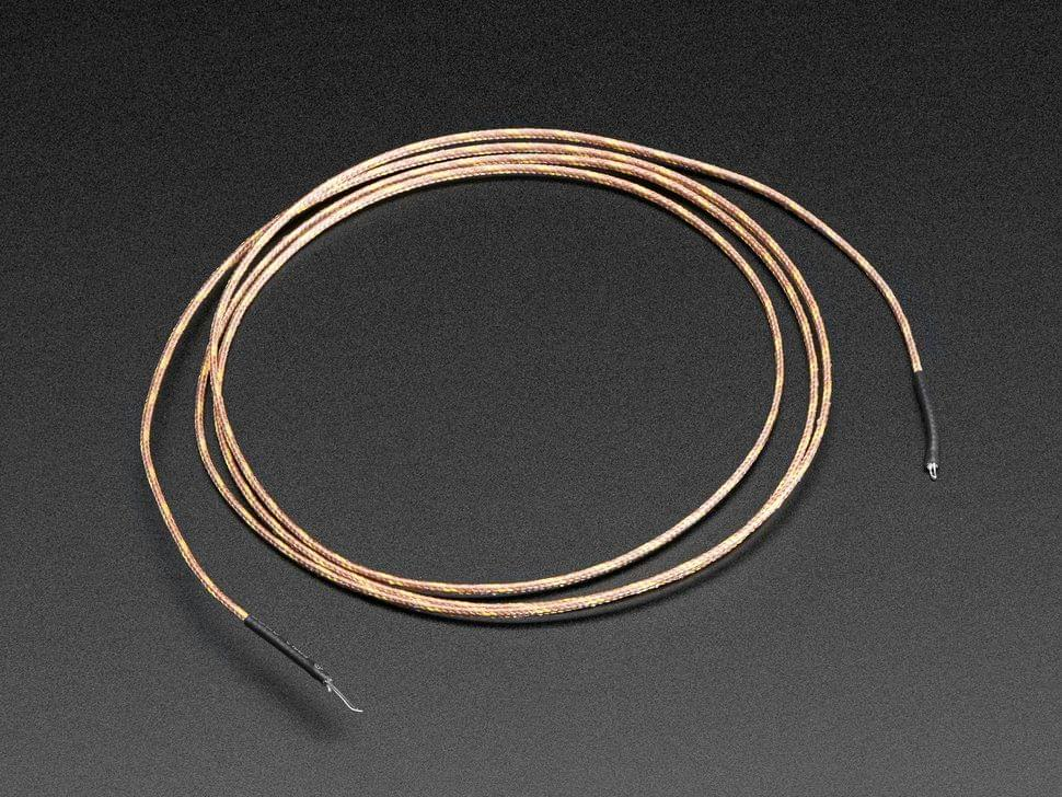Thermocouple Type-K Glass Braid Insulated - K