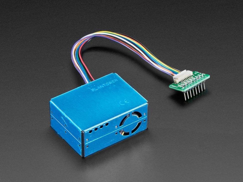 PM2.5 Air Quality Sensor and Breadboard Adapter Kit - PMS5003