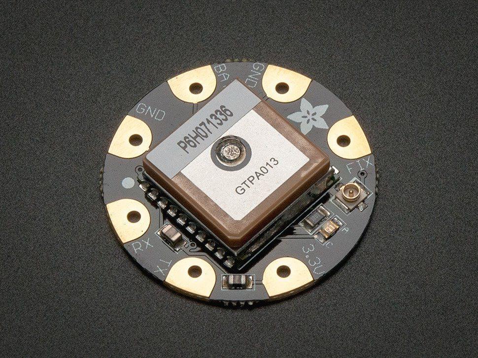 Flora Wearable Ultimate GPS Module