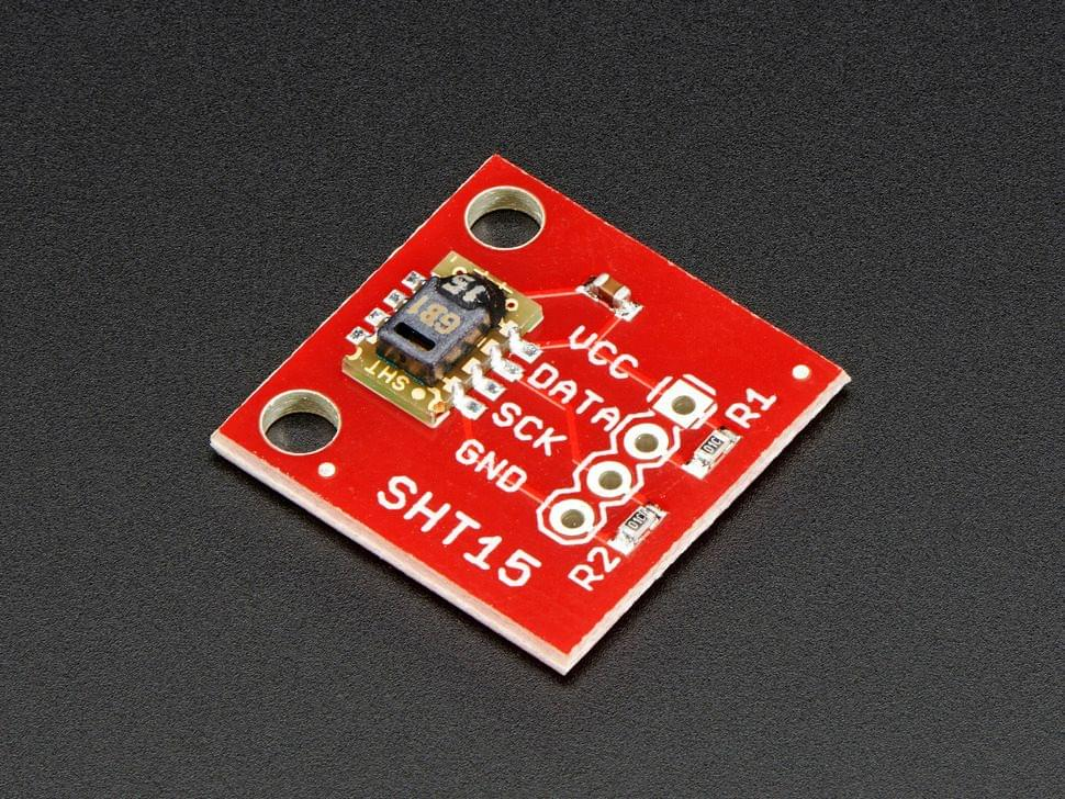 Humidity and Temperature Sensor - SHT15 Breakout - SHT15