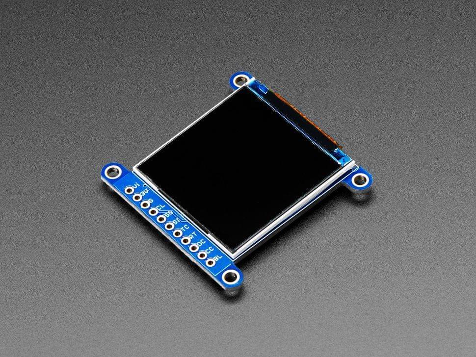 "Adafruit 1.54"" 240x240 Wide Angle TFT LCD Display with MicroSD - ST7789"