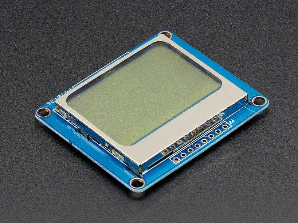 Nokia 5110/3310 monochrome LCD + extras